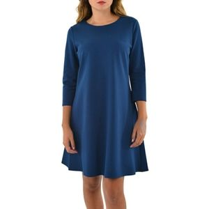 Jude Connally Ava Dress Midnight Navy Blue Aline